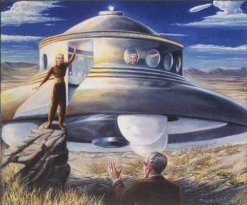 Двое инопланетян работают на правительство США