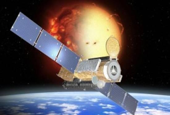 Космический аппарат SOHO, запечатлевший объект, похожий на ангела