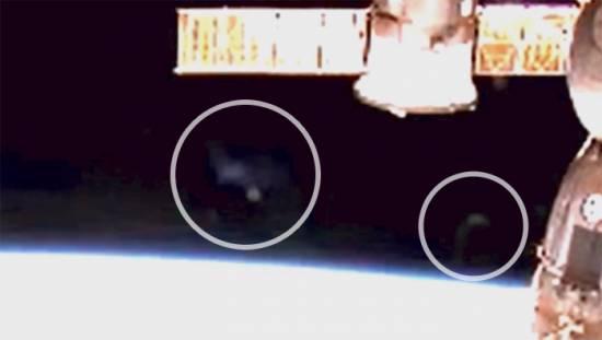 Возле орбитальной станции вновь были замечены таинственные объекты