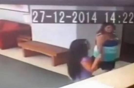 Жительница Чили получила серьезные травмы, ее резко сбил с ног призрак