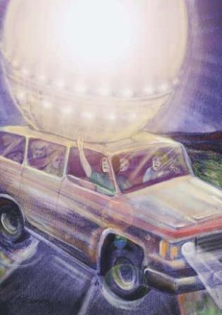 Нападение НЛО на машину в 1988