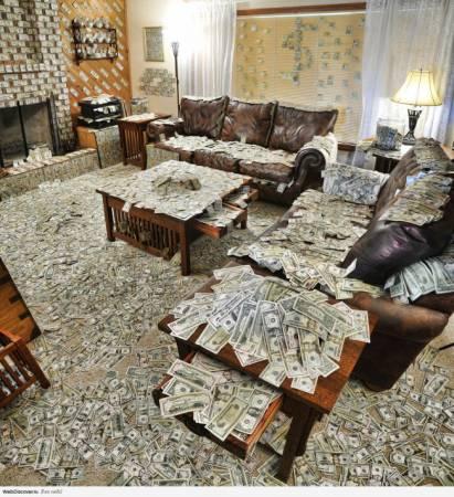 Как привлечь в дом деньги…