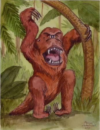 Мапингуари - ужас Амазонии