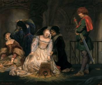 самой трагической фигурой была леди Джейн Грей.