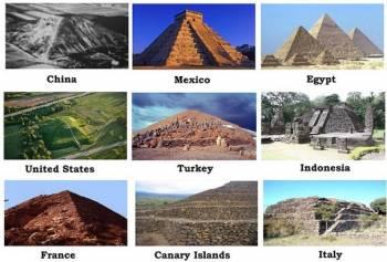 Одинаковые пирамиды