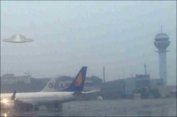 Более 60 НЛО зафиксированы над индийским аэропортом.