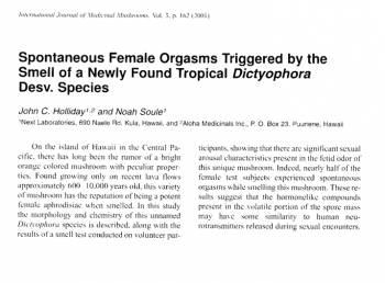 Страничка из научного журнала с опсанием эксперимента 2001 года.