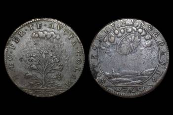 Монета с НЛО озадачила уфологов