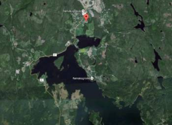Монстр из норвежского озера Реммен