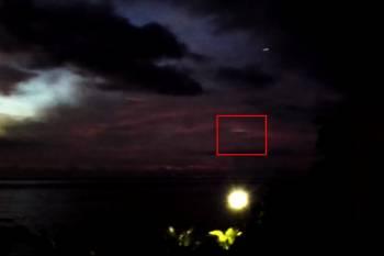 Индийском океане рядом с островом Маврикий зафиксировали НЛО