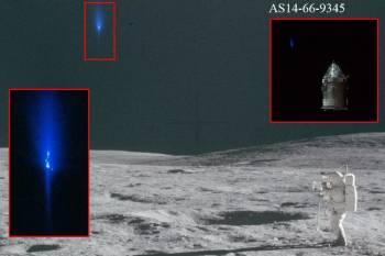 Уфолог на фотографиях миссии «Апполон-14» обнаружил НЛО