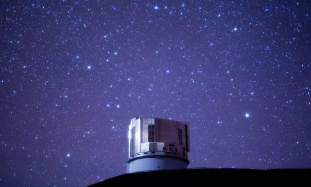 Телескоп Субару на вулкане Мауна Кеа