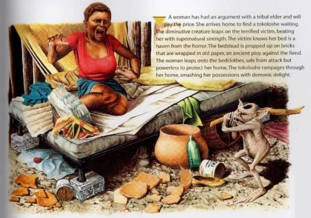 Токолоше: Африканский волосатый карлик-насильник