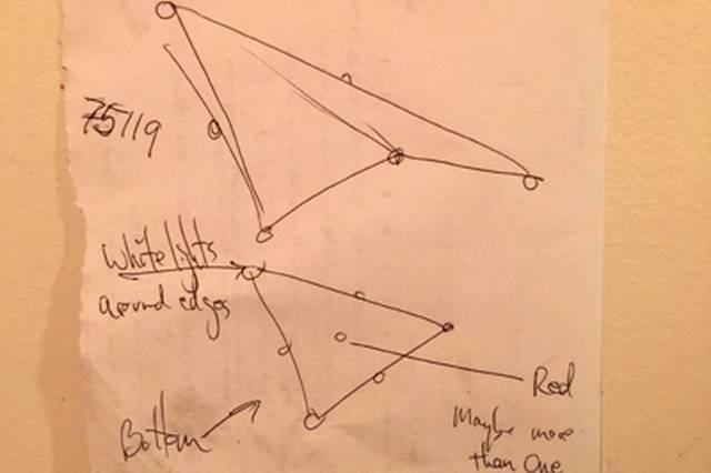 Над художником из штата Огайо пролетел громадный треугольный НЛО