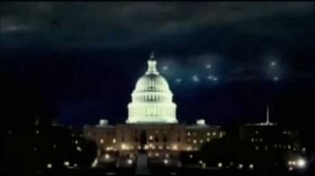 НЛО над Капитолием