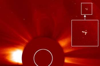 Уфолог обнаружил рядом с Солнцем загадочный НЛО