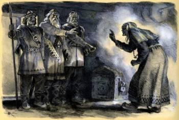 ХОЗЯЙКА СЕВЕРА - старуха Лоухи