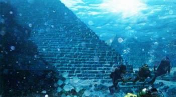Пирамида на дне океана