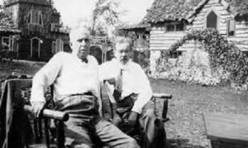 Чарльз Форт и Теодор Драйзер.
