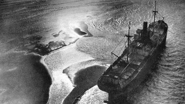 Коварные пески Гудвина пожирают корабли