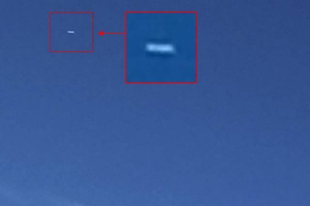 Житель из Колорадо зафиксировал сигарообразный НЛО