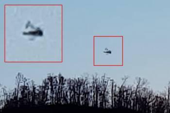 Отставной военный из Теннесси зафиксировал странный НЛО