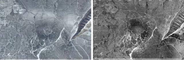 На Байкале снова появились кольцевые структуры