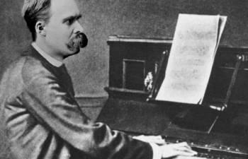 Немецкий философ Фридрих Ницше