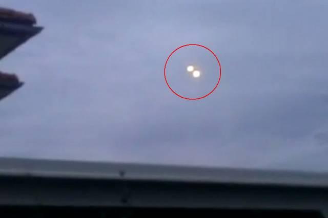 Очевидец из Австрии зафиксировал стыковку двух НЛО