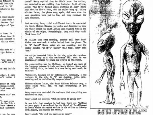 Рассекреченные документы ЦРУ и другие летающие тарелки