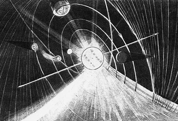 Солнечная система согласно доктрине вечного льда