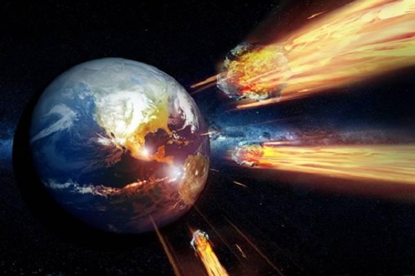 Падение астероидов на Землю