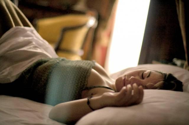 Доброе утро наступает после хорошего сна.
