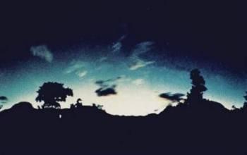 Загадочные световые явления при землетрясениях