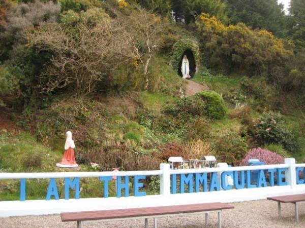 Ирландский феномен движущихся статуй Девы Марии