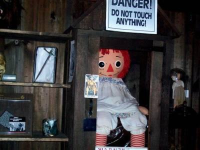 История одержимой куклы Аннабель