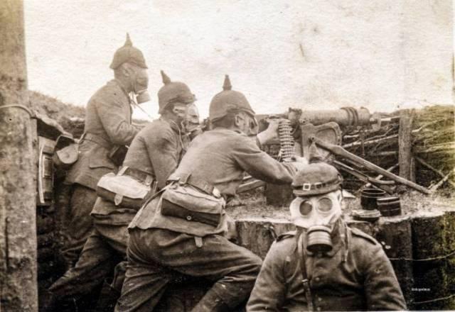 Призрак проклятого немецкого солдата