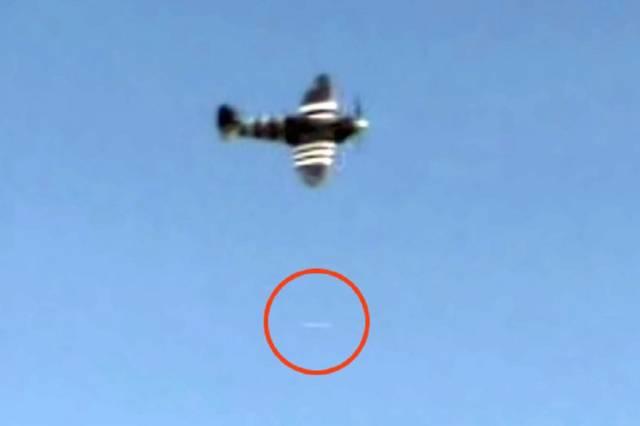 НЛО пролетел под самолётом в Херн-Бей