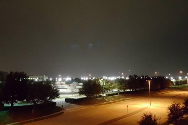 Опубликована фотография НЛО над Далласом