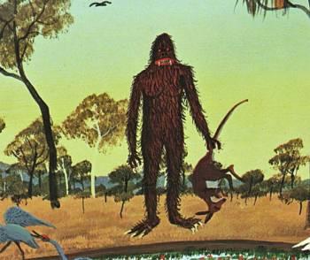 Йови – загадочные существа Австралии
