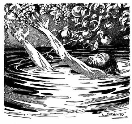 Один из самых известных мучеников Аида — царь Тантал
