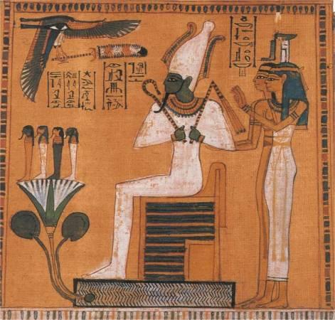 Осирис, властитель царства мёртвых, Дуата