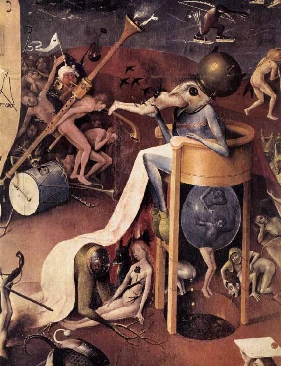Иероним ван Акен Босх имел своеобразный взгляд на преисподнюю